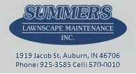 Summers' Lawnscape Logo